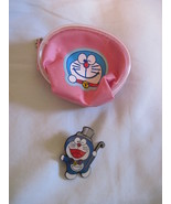 Japan anime Doraemon pin and pouch - $10.00