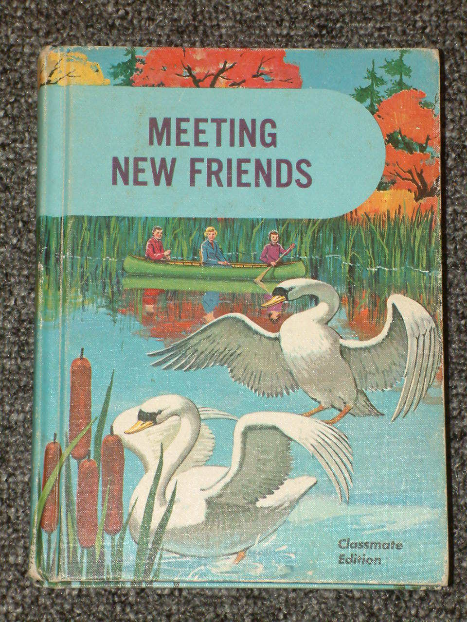 Meeting New Friends Basic Reader 1962