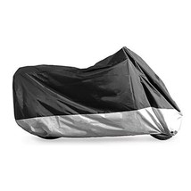 PrimeShield All Season Waterproof Motorcycle Cover, Fits up to 113 Inches Motors