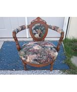 Walnut Renaissance Revival Bustle Chair/Parlor Chair - $1,011.60