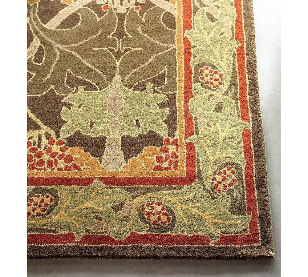 New Pottery Barn Handmade Persian CECIL Area Rug 5X8