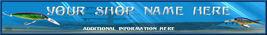 Blue Underwater 2 Custom Banner  Web Site  Original - $7.00