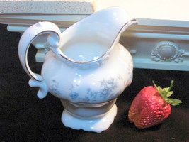 Blue Garland Johann Haviland China Creamer Germany Porcelain Dinnerware - $17.99