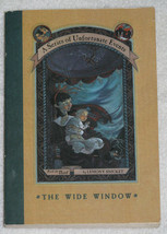 A Series of Unfortunate Events The Wide Window Book 3 - $3.50
