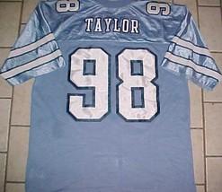 Lawrence Taylor #58 North Carolina Tar Heels NCAA ACC Blue Throwbacks Jersey XL image 1