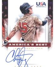 2012 Panini USA Baseball 18U National Team Americas Best  #15 Chris Okey /100 - $10.00