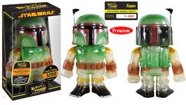 Star Wars Starshine Glittered Boba Fett Funko Hikari Figure Limited 1200 SEALED - $53.16