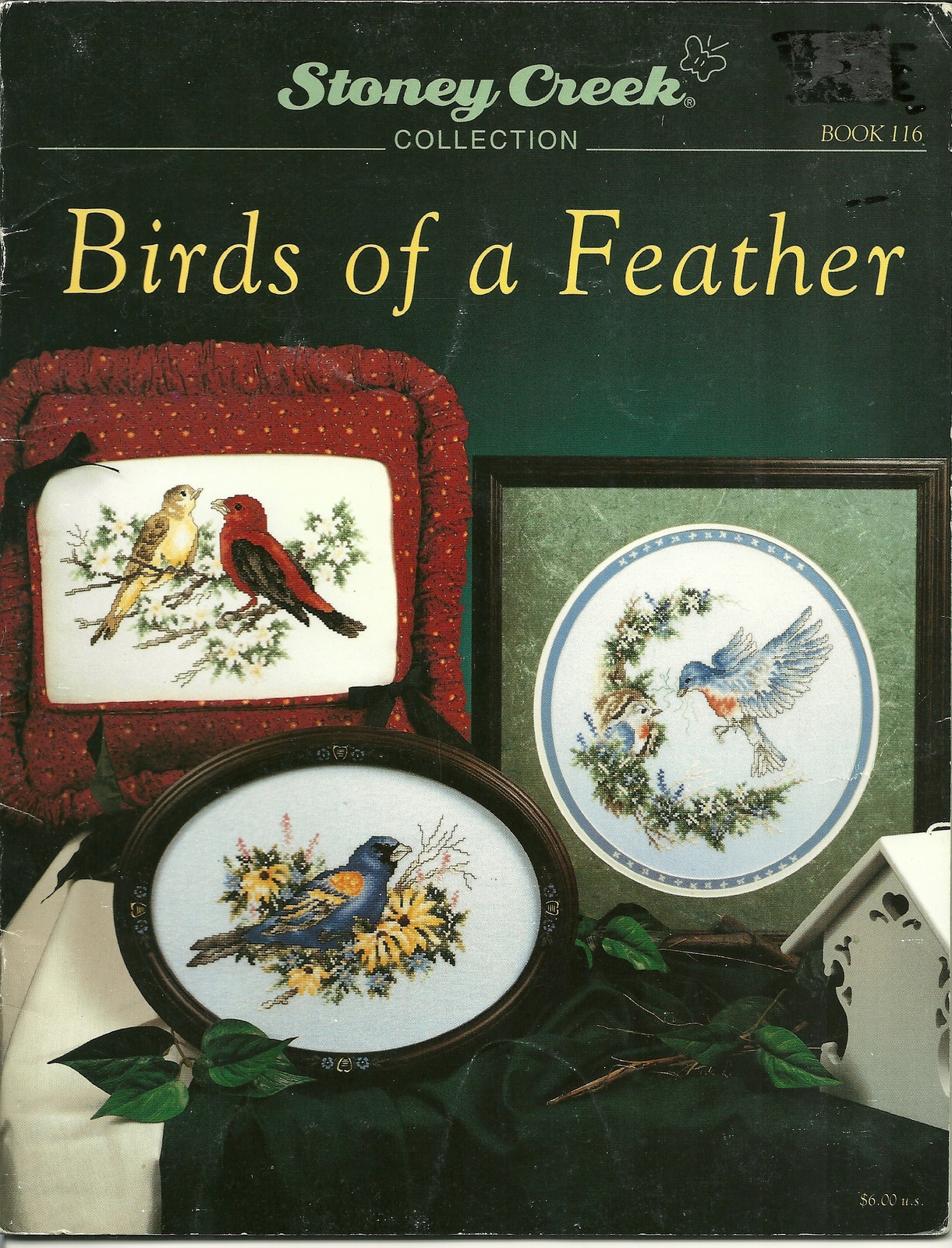 Birds of a feather cross stitch pattern book 116 stoney creek collection  1