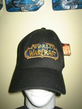 NEW WITH TAGS WORLD OF WARCRAFT BASEBALL HAT CAP ADULT SIZE L-XL WOW FLE... - $15.96