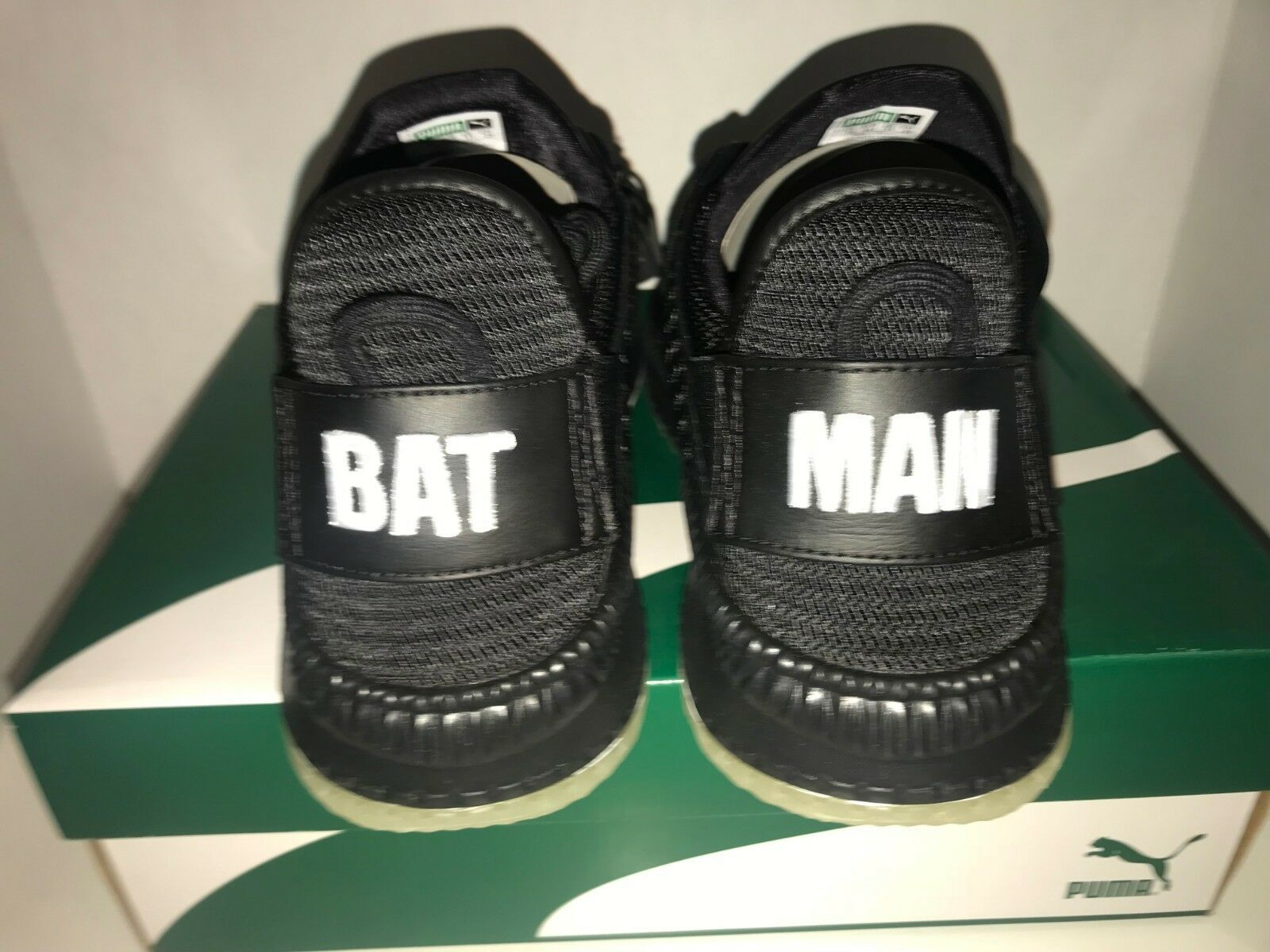 Puma Tsugi Netfit Batman Hombre Talla 11 13 Liga de la Justicia Caballero Oscuro