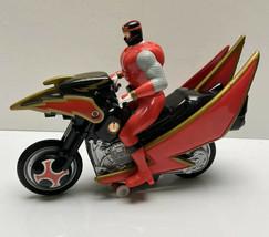 2002 Power Rangers Ninja Storm Red Tsunami Remote Control Motorcycle Parts - $16.96