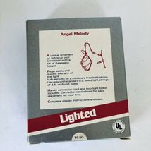 Hallmark Keepsake Magic Ornament 1989 Angel Melody Lighted New in Box image 4