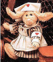 "Boyds Bears ""Emily Babbit..The Rabbit"" 8"" Nurse Hare #9150-09- 1998-NWT-Retired - $29.99"