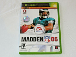 Madden NFL 06 Microsoft Xbox Live Online Enabled 2005 Video Game E-Everyone - $15.94