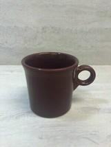 Fiesta HLC Homer Laughlin Cinnabar 10.25 oz Coffee Mug Cup, USED - SEE PICS - $14.84