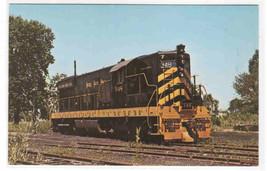 Nickel Plate Railroad Train 348 Diesel  Norwalk Ohio postcard - $5.45