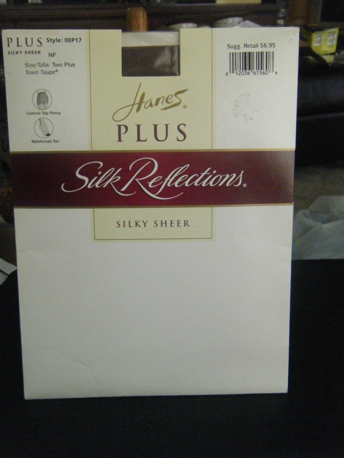 f1e452247a4ea S l1600. S l1600. Hanes Plus Silk Reflections Control Top Pantyhose - Size  2 Plus - Town Taupe. Free Shipping