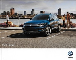 2013 Volkswagen TIGUAN sales brochure catalog US 13 SE SEL VW - $9.00