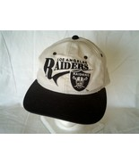 Vintage Los Angeles Raiders Snapback Hat Young An - £30.22 GBP