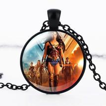 Wonder Woman Cabochon Necklace >> C/S & H Available << (8449) - $3.96
