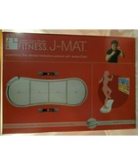 JACKIE CHAN XaviXPORT FITNESS WORKOUT J-MAT, WEIGHTS, USER'S GUIDE - $19.79