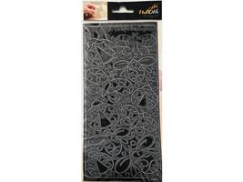 Elizabeth Crafts Design Peel-Offs Outline Stickers, Bugs #2341