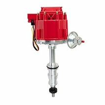 A-Team FORD 330 361 391 HEAVY DUTY TRUCK HEI DISTRIBUTOR RED 1 WIRE HOOKUP New