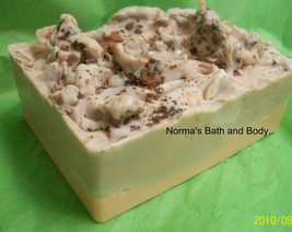 pumpkin and chocolate goats milk glycerin soap, soap, bath, beauty, glyc... - $5.50