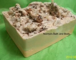 pumpkin and chocolate goats milk glycerin soap, soap, bath, beauty, glyc... - $5.50