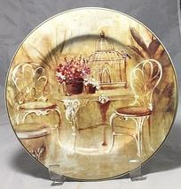 The Sakura Table  stoneware salad plate conservatory by Sheri Blum  - $6.88