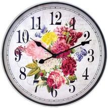 Westclox 32897FL 12-Inch Floral Wall Clock - $27.50