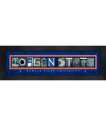 Morgan State University Officially Licensed Framed Campus Letter Art - $39.95