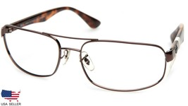 Ray Ban Rb 3445 Brn Copper Brown Sunglasses 61-17-130 B37 (Lenses Missing) Italy - $33.65
