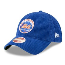 New Era New York Mets Corduroy Classic 9Twenty Adjustable Cap Hat Blue 1... - €23,09 EUR