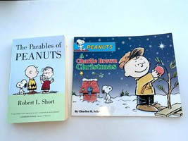 Lot of 2 peanuts books: The Parables of Peanuts & A Charlie Brown Christmas - $8.59