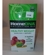Home DNA Healthy Weight Test Collection Kit Analysis Report Fat Loss Bur... - $10.00