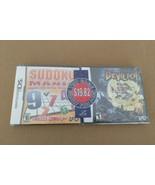 Nintendo DS Limited Edition Bundle Devilish Sudoku UFO New Sealed VTG Ga... - $28.21