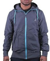 Bench Men's Grey Iden Hooded Spring/Fall Jacket 2XL XX-Large BMKA1402B NWT image 1