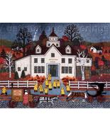 WOOSTER SCOTT CREWEL EMBROIDERY KIT TUTTLETOWN AUTUMN RAIN - $70.00