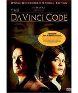 DA VINCI CODE AUDREY TAUTOU TOM HANKS SLIP COVER DVD 2 DISC RARE - $9.95