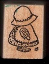 Sun Bonnet Sue Rubber Stamp sunbonnet Large - $9.99