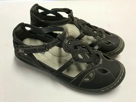 JBU by Jambu Ladies' Sydney Flat Sandals Memory Foam Footbed Size 7 NEW - $28.22