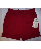 New Girl's Oshkosh Red 18 Months  Shorts - $7.99