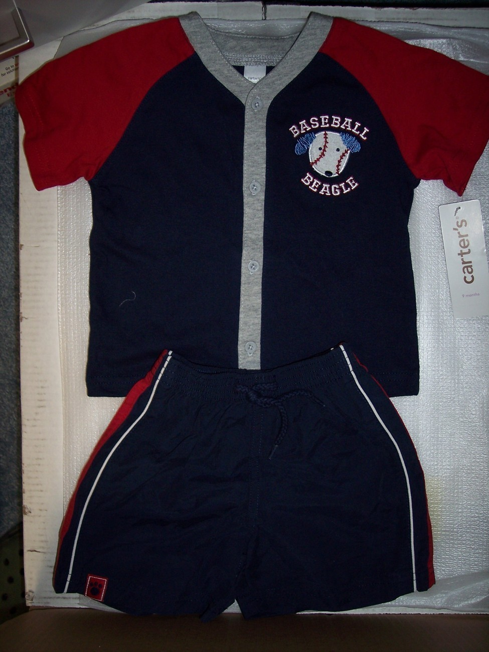 Boy's Carter's Shorts Set 9 Months