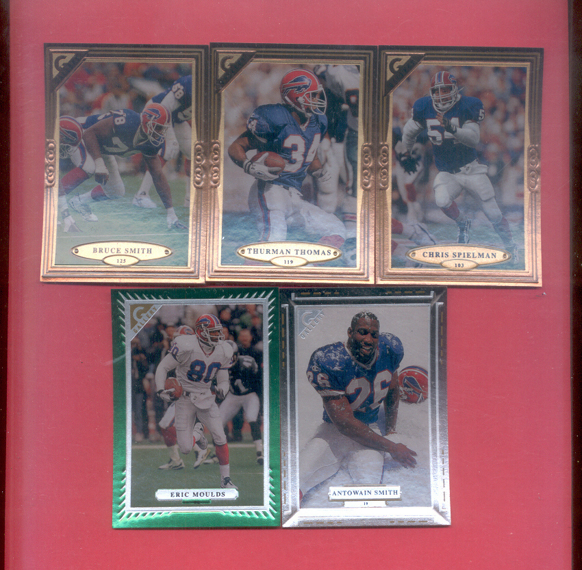 1997 Topps Gallery Buffalo Bills Football Team Set