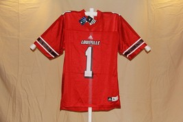 Louisville Cardinals Red Youth adidas #1 Football Jersey - $6.95