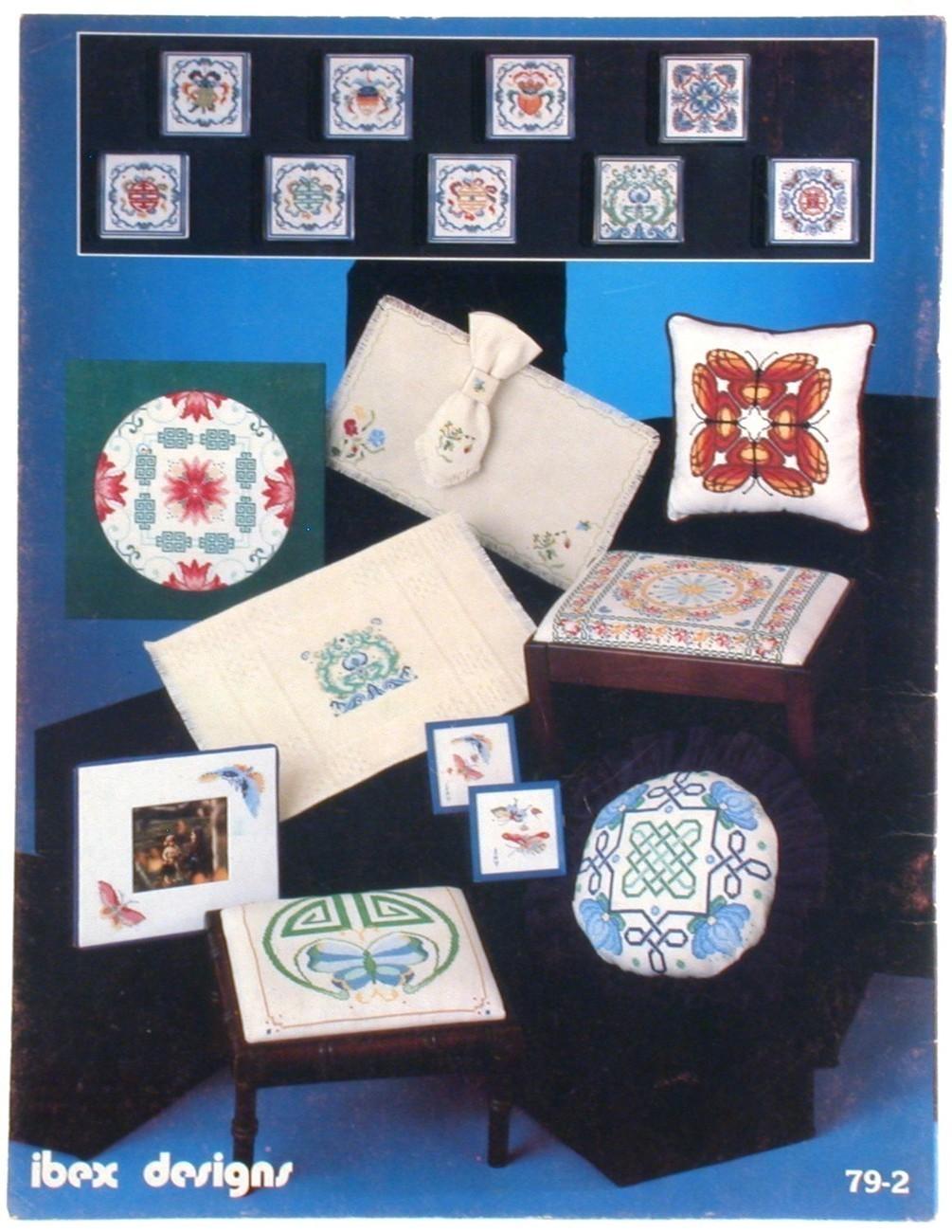 Needlepoint Cross Stitch Patterns Potpourri Oriental Themes Projects