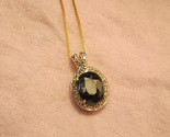 Large sapphire pendant necklace thumb155 crop