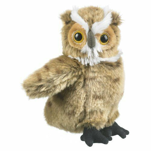 Great Horned Owl Plush Toy 7""