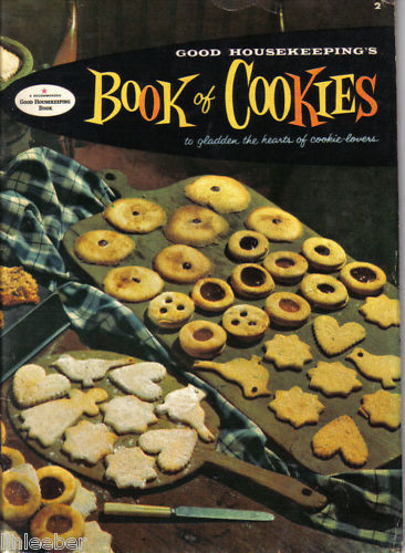 Good Housekeeping's Book of Cookies-Cookie Lovers! 1958